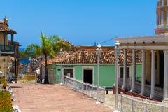 联合国科教文组织古巴大厦和建筑学在特立尼达11 免版税库存照片