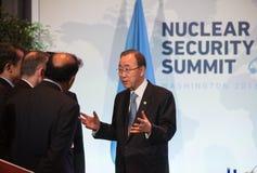 联合国秘书长潘基文 免版税库存图片