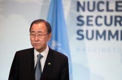 联合国秘书长潘基文 库存图片