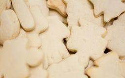 联合国装饰了圣诞节曲奇饼 库存图片