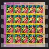 联合国邮票 库存照片