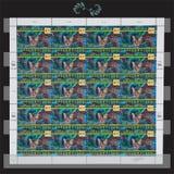 联合国邮票 免版税库存照片