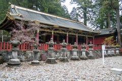 日光寺庙 免版税库存图片