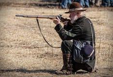 联合射击手 免版税图库摄影