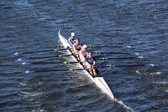 联合小船俱乐部在主任Challenge赛跑  图库摄影