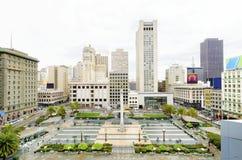 联合广场,旧金山,加利福尼亚 免版税图库摄影