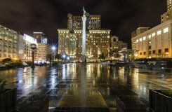 联合广场,旧金山,加利福尼亚 免版税库存图片