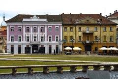 联合广场Piata Unirii 免版税库存照片