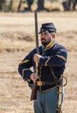 联合战士 图库摄影