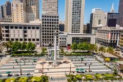 联合正方形在旧金山 库存图片