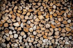 联合的木柴 免版税库存图片