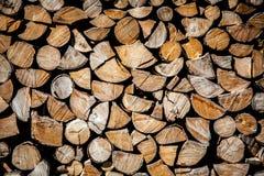 联合的木柴 库存图片