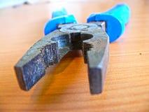 联合的钳子,技术工具 免版税库存图片