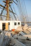 联合的风帆 免版税图库摄影