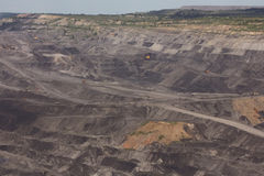 联合矿业在西伯利亚 免版税图库摄影