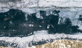 联合矿业露天开采矿 免版税库存图片