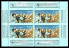 联合空间飞行USSR-GDR 免版税库存照片