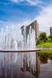 联合驻地喷泉 库存照片