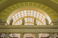 联合驻地建筑学内部华盛顿特区2016年11月 免版税库存照片