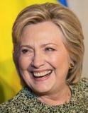 联大的希拉里・克林顿在纽约 免版税库存照片