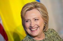 联大的希拉里・克林顿在纽约 库存照片