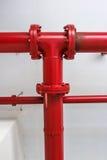 联接每消防栓火 免版税库存照片