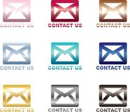 联络给我们发电子邮件 免版税库存图片