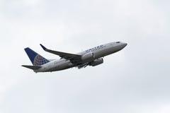 联航波音波音737-724 免版税库存照片