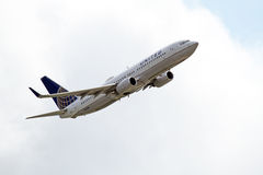 联航波音737-824 图库摄影