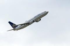 联航波音737-824 免版税图库摄影