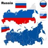 联邦俄语集 向量例证