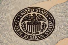 联邦储蓄会密封 免版税图库摄影