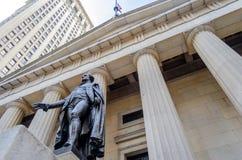联邦国家纪念堂,纽约 免版税库存图片