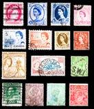 联邦国家邮票 免版税图库摄影