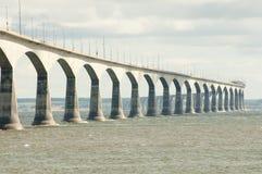 联邦大桥-加拿大 免版税库存图片