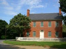 联邦有历史的房子 免版税库存图片