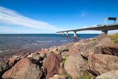 联邦桥梁14km 库存照片