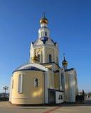 联邦正统俄国寺庙 免版税库存照片