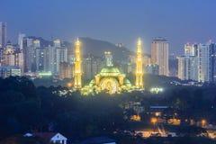 联邦疆土清真寺在吉隆坡,马来西亚 库存照片
