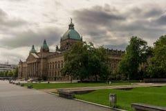 联邦行政法庭在莱比锡 库存照片
