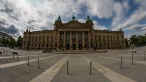 联邦行政法庭在莱比锡 免版税图库摄影