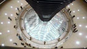 联邦议会圆屋顶的IInside在柏林,德国 股票录像