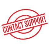 联络支持不加考虑表赞同的人 免版税库存照片