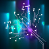 联络连接背景展示连接线或接口Cir 库存照片