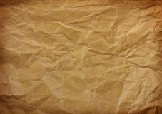 起皱纹的纸 库存图片