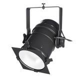 聚光灯、下端背面或者泛光灯 库存照片