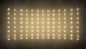 聚光灯和墙壁舞蹈 库存例证