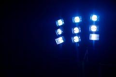聚光灯和泛光灯 库存照片