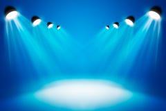 聚光灯抽象照明设备 免版税库存图片