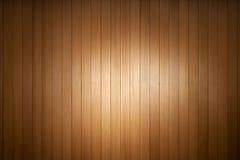 聚光灯木头背景 免版税库存图片